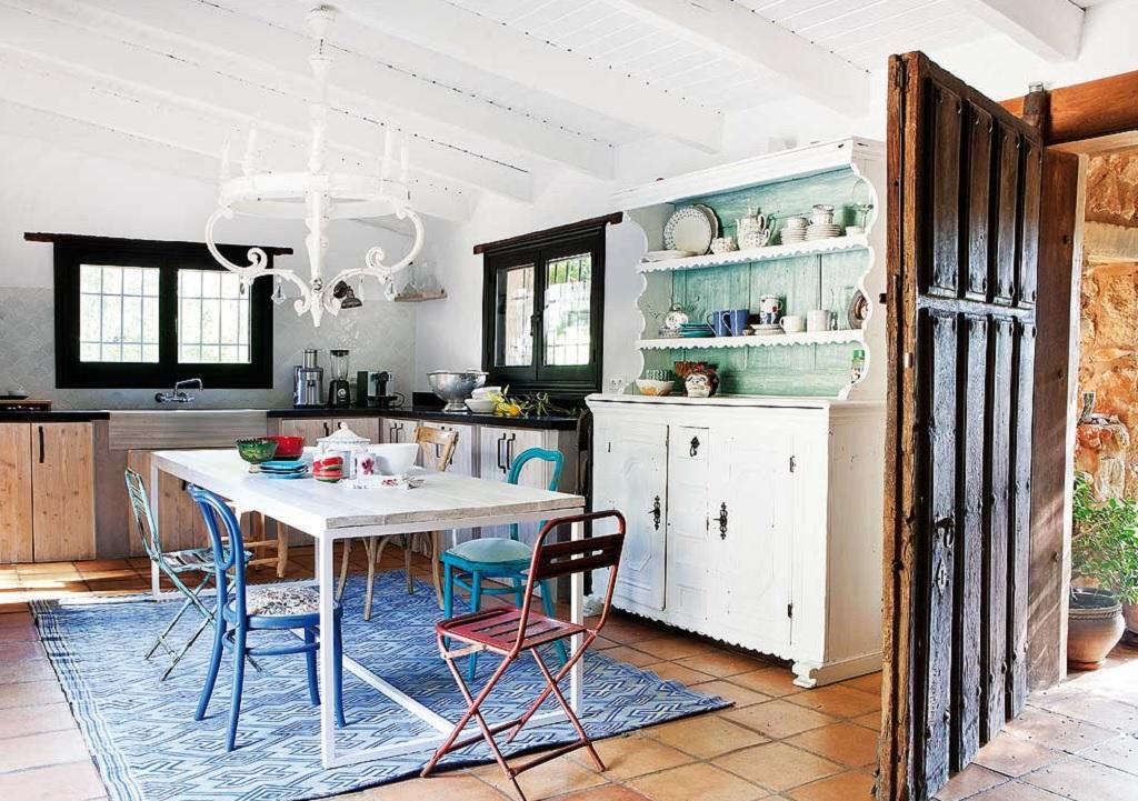 cocina113 - Encanto rústico y bohemio en una preciosa casa en Jávea, Costa Blanca (Alicante)