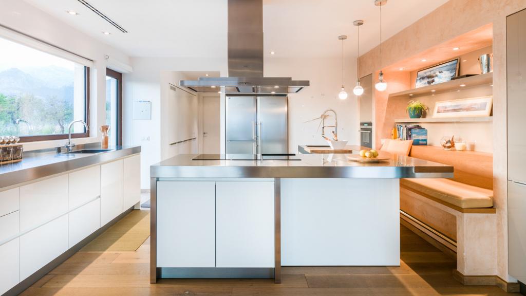 cocina19 - Casa en Mallorca de estilo moderno y minimalista con la acogedora calidez mediterránea
