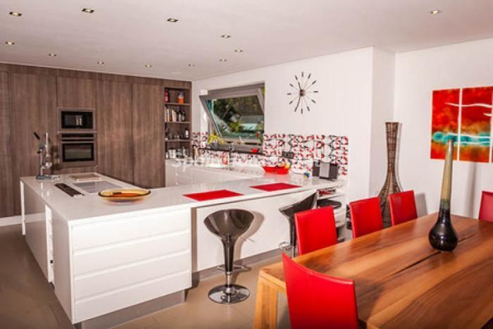 cocina50 - Moderna villa con fantásticas vistas al mar en Les Basetes, Calpe (Costa Blanca)