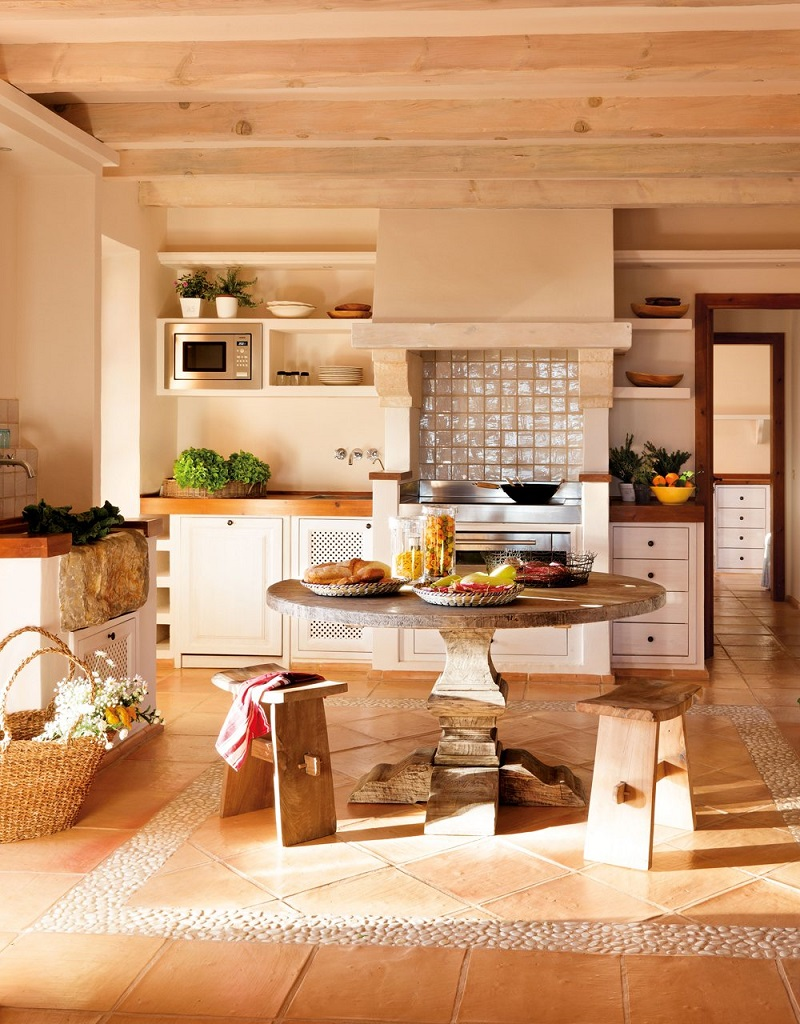 cocina51 - Paraíso de luz y buganvillas en una preciosa casa en Santanyí (Mallorca, Baleares)