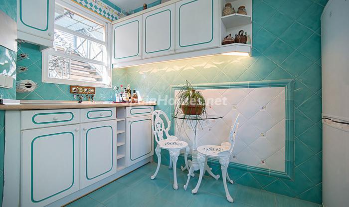 cocina62 - Elegancia, espacio y luz en una fantástica casa en Port d'Aiguadolç, Sitges (Barcelona)