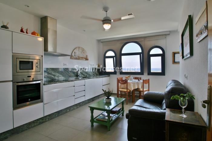cocina66 - Gran chalet de 6 dormitorios con vistas a la Isla de San Andrés, Carboneras (Almería)