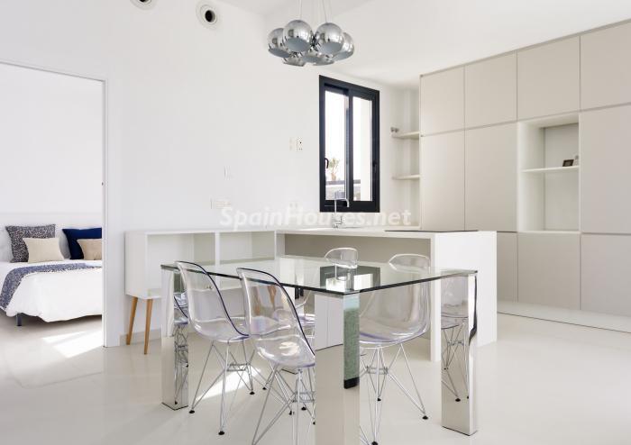 cocina67 - Coqueta y luminosa casa de diseño en Guardamar del Segura (Costa Blanca, Alicante)