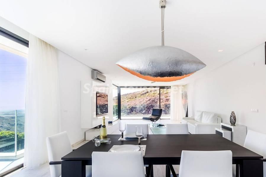 comedor 10 - Fantástica casa de diseño moderno en Monte León, San Bartolomé de Tirajana (Las Palmas)