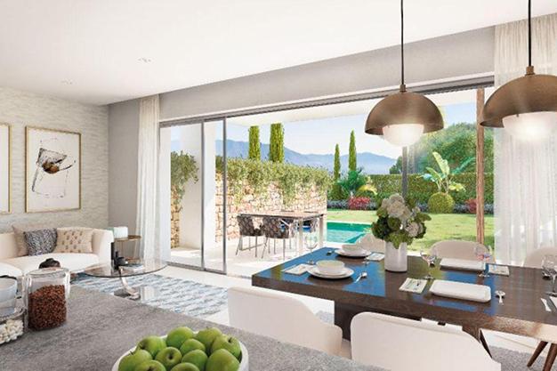 comedor 2 1 - Ático de lujo en Mallorca: moderno, minimalista y de alto diseño