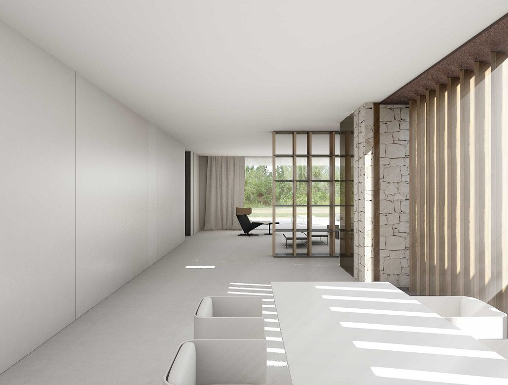 comedor 20 1024x778 - En La Cañada, casa contemporánea y minimalista a 5 km de Valencia