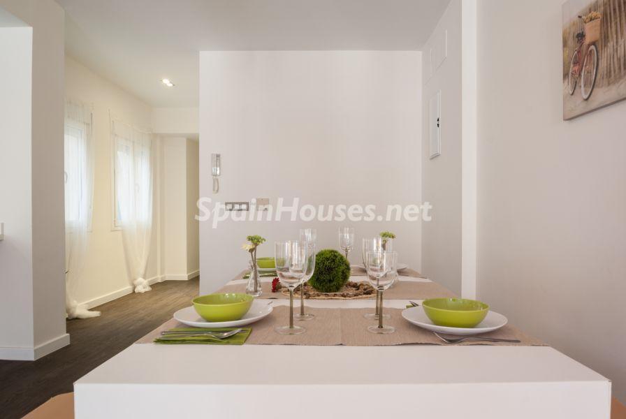 comedor 22 - Home Staging de detalles cálidos en un bonito piso reformado en Cádiz capital