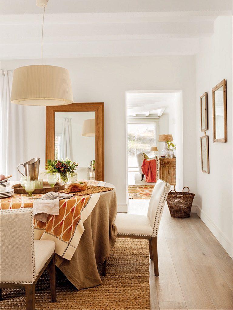 Luminoso toque rústico y moderno en una preciosa casa en Málaga