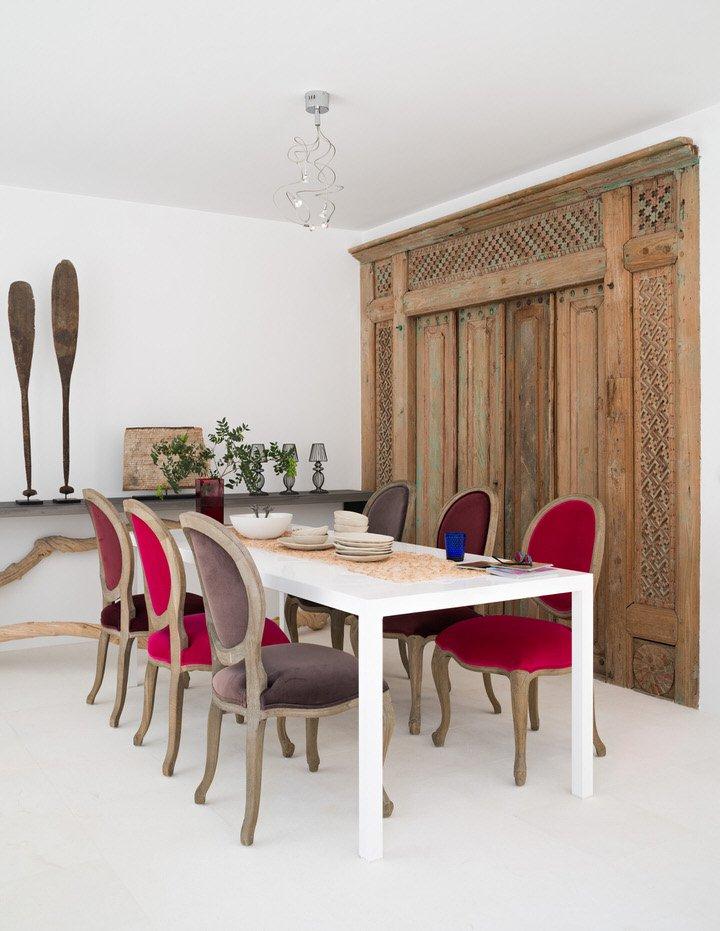 comedor 31 - Serenidad minimalista y mediterránea en una genial casa en Sotogrande (Cádiz)