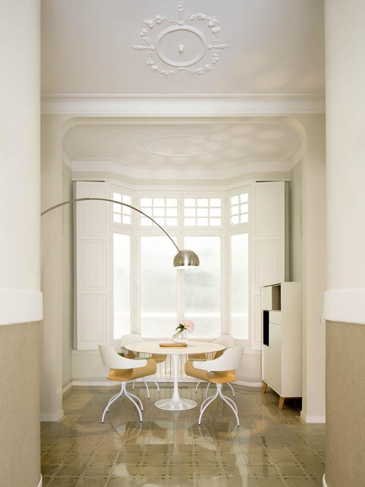 """comedor 33 - Toque """"Art Novou"""" con jardín en una elegante casa modernista en Barcelona"""