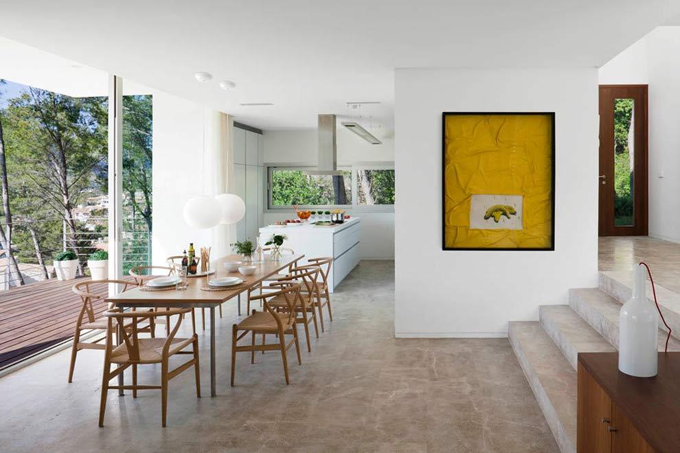 comedor 35 - Diseño modular y mediterráneo en una genial casa en Pollensa (Mallorca, Baleares)