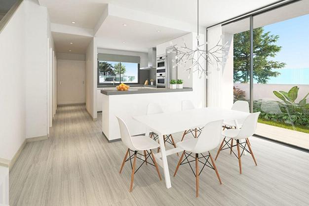 comedor 38 - Espectacular chalet adosado en Fuengirola: altas calidades, terrazas y jardín