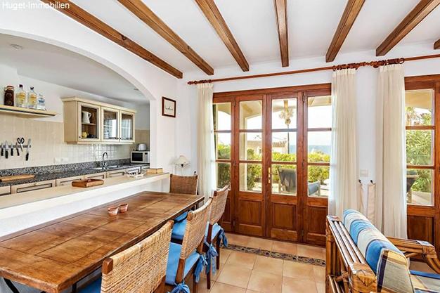 comedor 42 - Tranquilidad isleña en este precioso apartamento frente al mar en Mallorca