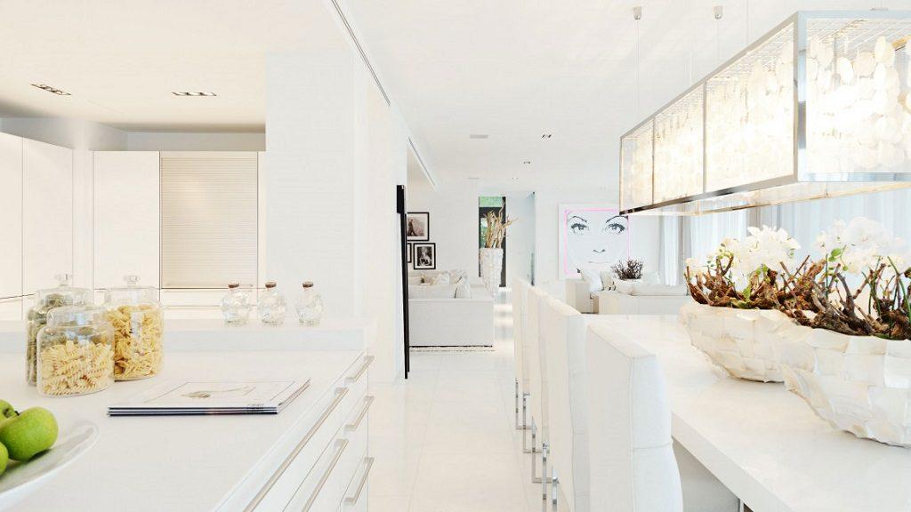 comedor cocina1 1 1024x576 - Altea Hills: Villas de diseño mediterráneo con vistas al mar en Costa Blanca (Alicante)