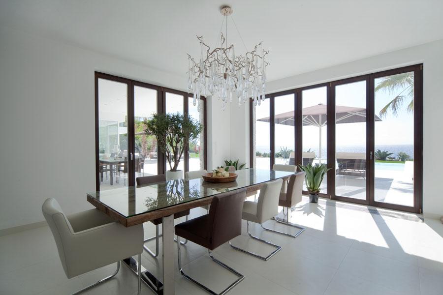 comedor12 - Espectacular y luminosa casa de diseño frente al mar en Cala d'Or, Santanyí (Mallorca)