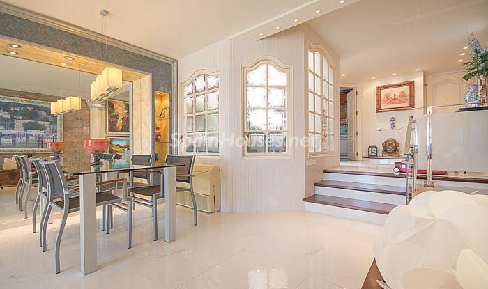 comedor13 - Elegancia, espacio y luz en una fantástica casa en Port d'Aiguadolç, Sitges (Barcelona)