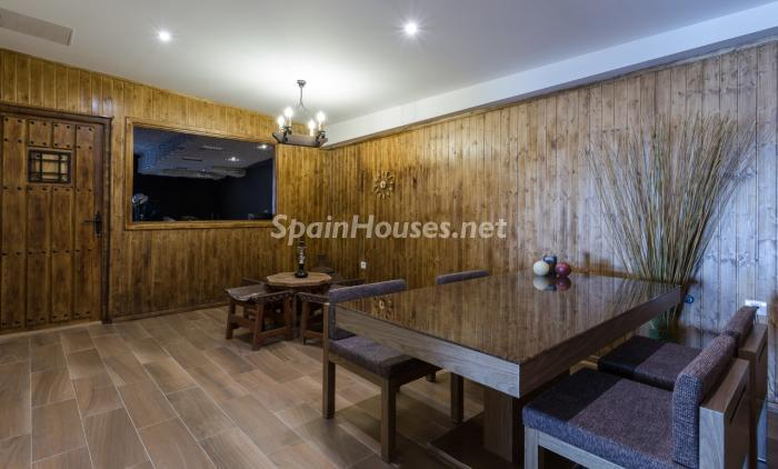 comedor15 - Precioso chalet de diseño contemporáneo en Las Palmas de Gran Canaria