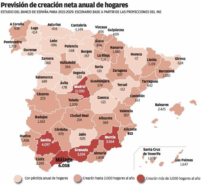 construccionvivienda bancodeespaña - La cifra de pisos terminados arranca 2016 subiendo un 10,8% tras ocho años de caídas