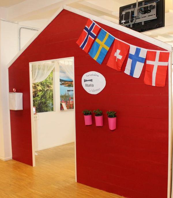 decoración original de oficinas1 - Las oficinas de eDarling se cubren de colores y creatividad