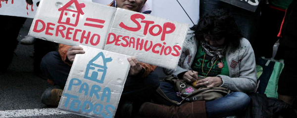 desahucios PP - Piden al PP que España no se convierta en un paraíso inmobiliario para los bancos
