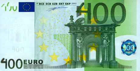 billete de 400 €