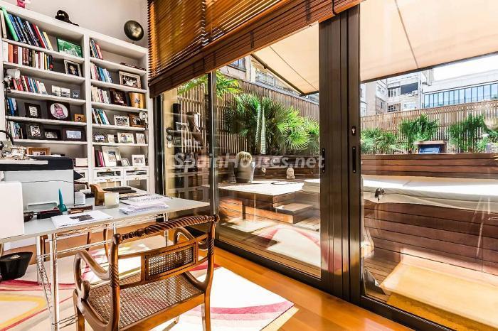 despacho - Precioso piso lleno de detalles, elegancia y lujo en el Eixample de Barcelona