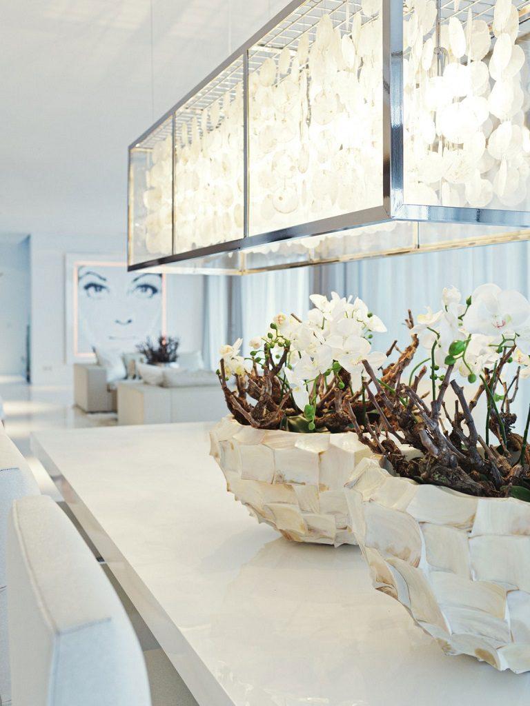 detalle comedor 2 768x1024 - Altea Hills: Villas de diseño mediterráneo con vistas al mar en Costa Blanca (Alicante)