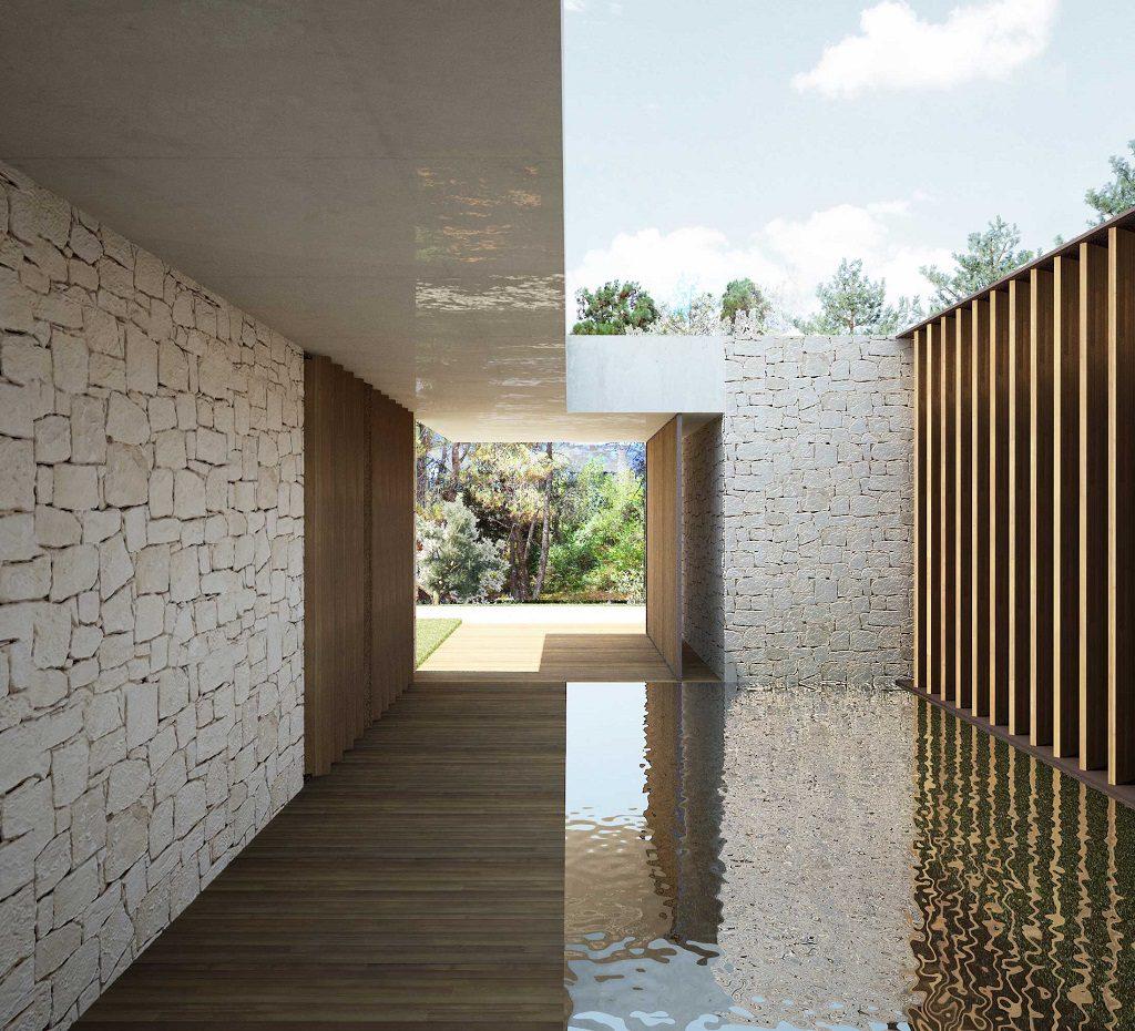detalle exterior 13 1024x930 - En La Cañada, casa contemporánea y minimalista a 5 km de Valencia