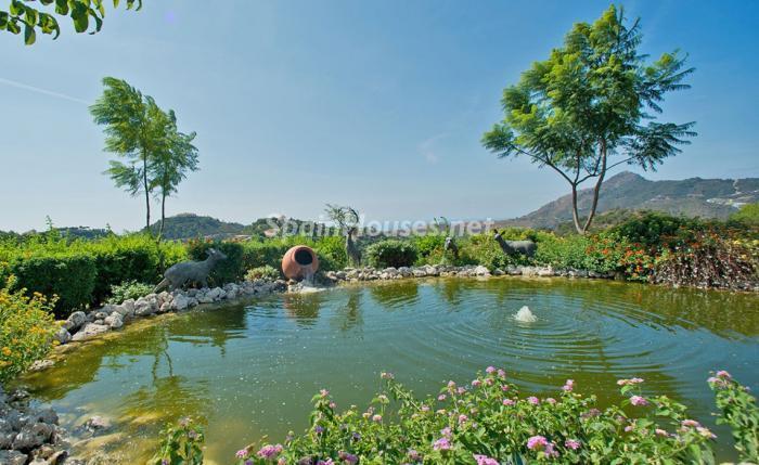 detalle exterior1 5 - Espectacular villa llena de romanticismo, elegancia y lujo en Benahavís (Costa del Sol)