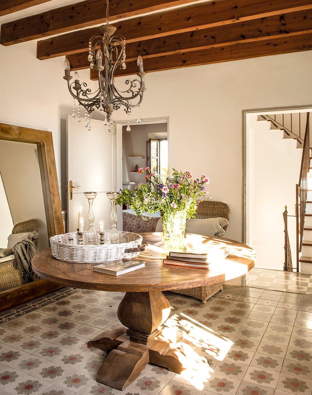 detalle interior - De antigua estación de tren a romántica casa llena de claridad y encanto
