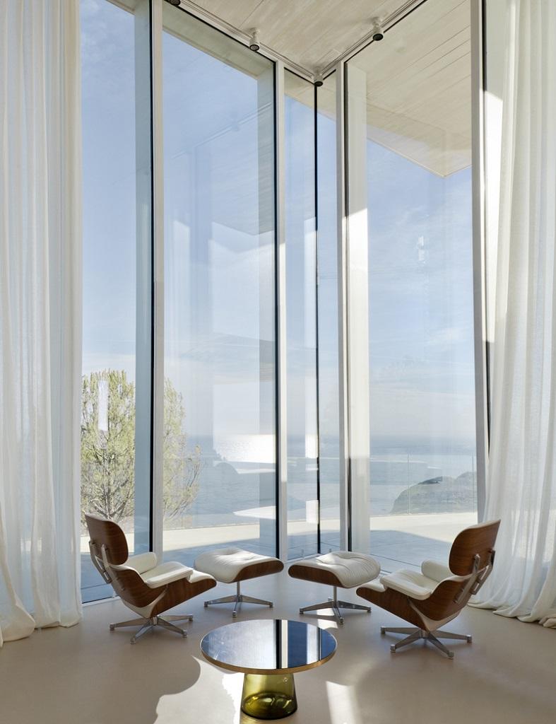 detalle interior11 - Casa Sardinera, Jávea (Costa Blanca): diseño imponente y liviano frente al mar
