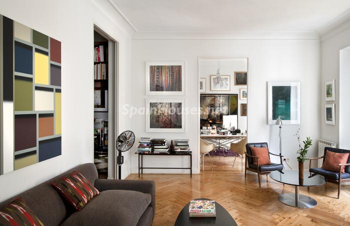 detalle interior2 - Precioso piso lleno de amplitud y estilo en el centro de Madrid