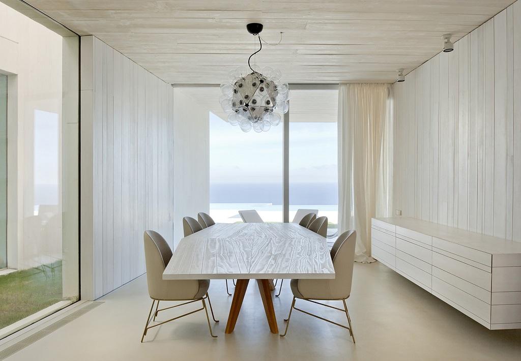 detalle interior5 - Casa Sardinera, Jávea (Costa Blanca): diseño imponente y liviano frente al mar