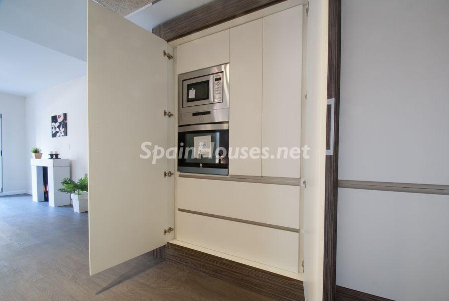 detalle muebles cocina - Home Staging de detalles cálidos en un bonito piso reformado en Cádiz capital