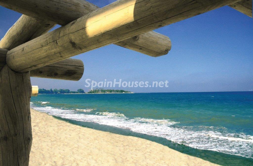 detalle pergola 1024x671 - Toque natural y mediterráneo en una preciosa casa en El Playazo de Vera (Almería)