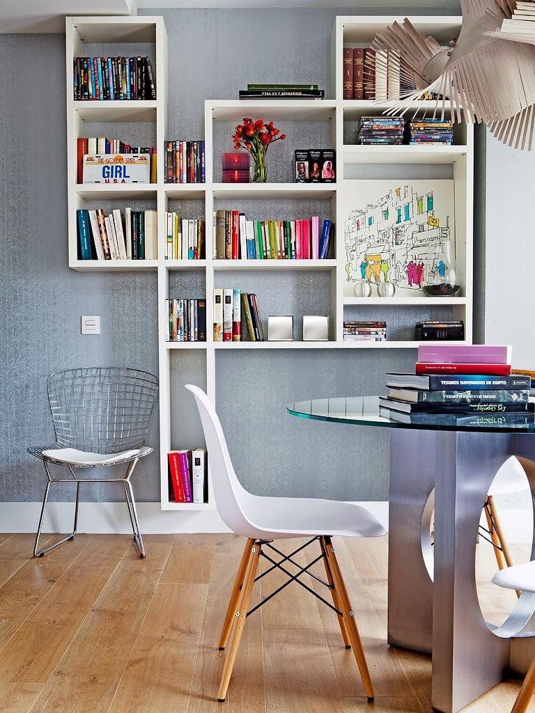 """detalle salon 768x1024 - Toque """"trendy"""" en Madrid, en un precioso loft cálido, femenino y moderno"""