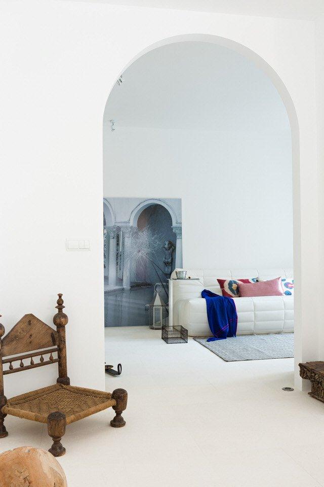 detalle salon 9 - Serenidad minimalista y mediterránea en una genial casa en Sotogrande (Cádiz)
