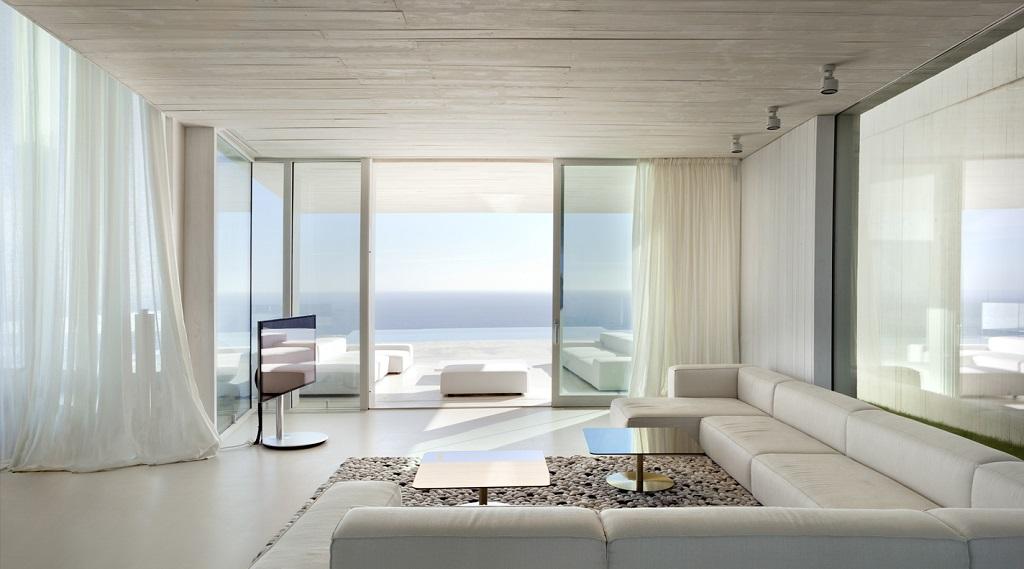 detalle salon4 - Casa Sardinera, Jávea (Costa Blanca): diseño imponente y liviano frente al mar