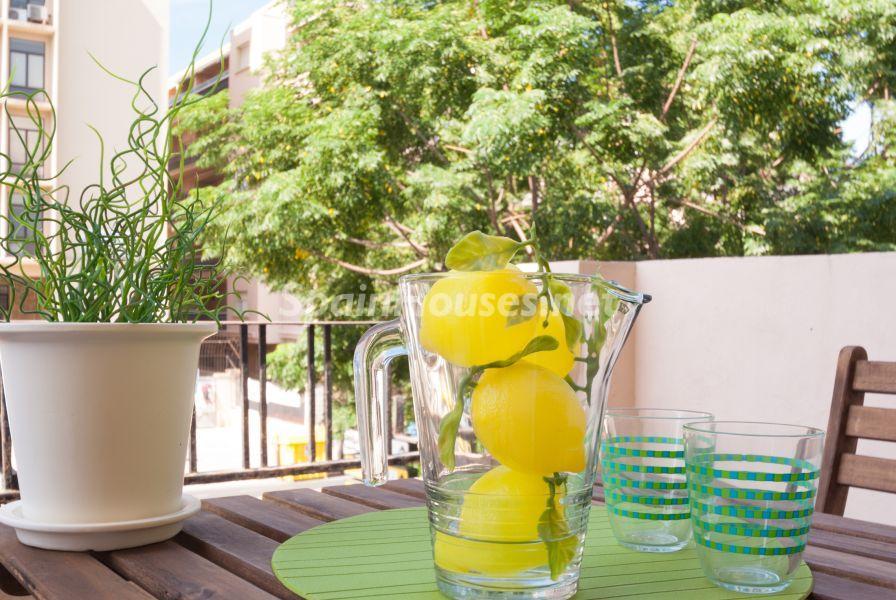 detalle terraza 4 - Home Staging de detalles cálidos en un bonito piso reformado en Cádiz capital