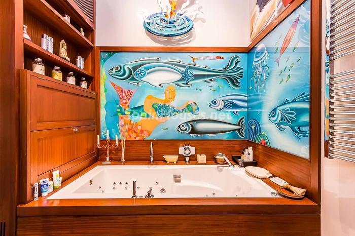 detallebaño2 - Precioso piso lleno de detalles, elegancia y lujo en el Eixample de Barcelona