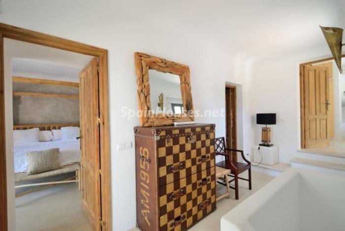 detalleinterior11 - Fantástica villa en Cala Vadella (San José, Ibiza): blanca, luminosa y mediterránea