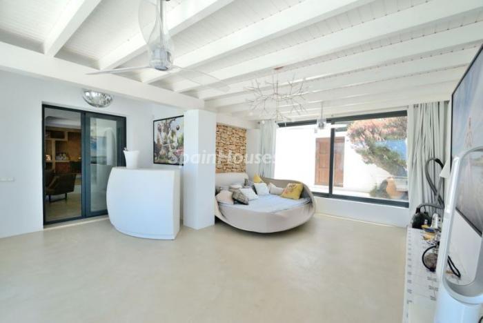 detalleinterior7 - Fantástica villa en Cala Vadella (San José, Ibiza): blanca, luminosa y mediterránea
