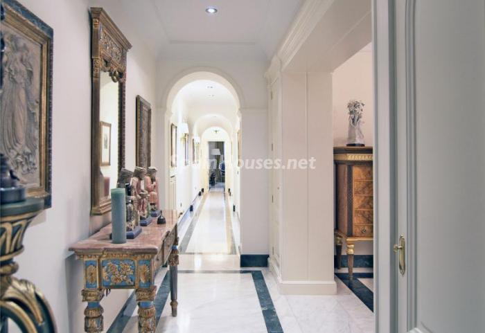 detallepasillo1 - Espectacular, lujoso y señorial apartamento en el barrio de Salamanca, Madrid