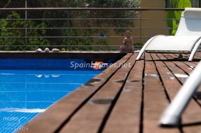detallepiscina - Lujo lleno de encanto en un precioso chalet en Pinares de San Antón, Málaga