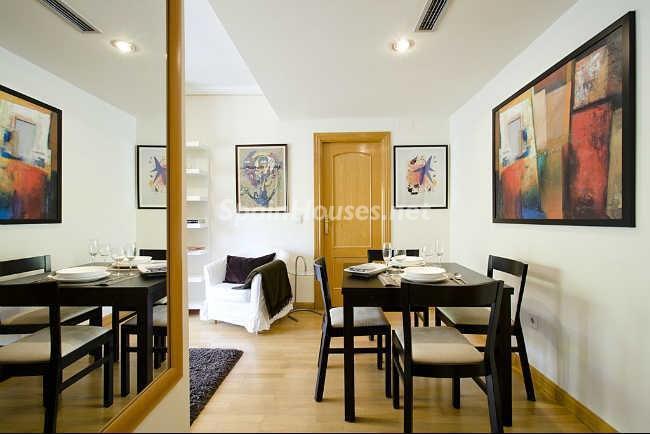 detallesalon2 - Elegante y acogedor ático en alquiler en el barrio de Salamanca, Madrid