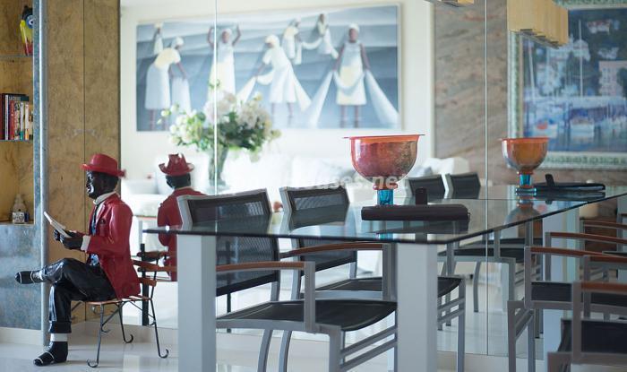 detallesalon9 - Elegancia, espacio y luz en una fantástica casa en Port d'Aiguadolç, Sitges (Barcelona)