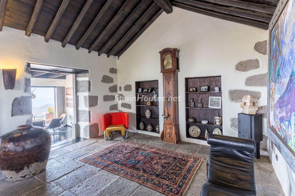 detallesinterior 1024x682 - Elegante y sereno toque otoñal en una bonita casa en Tafira, Las Palmas de Gran Canaria