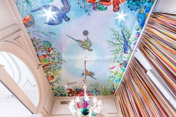 detalletechos - Precioso piso lleno de detalles, elegancia y lujo en el Eixample de Barcelona