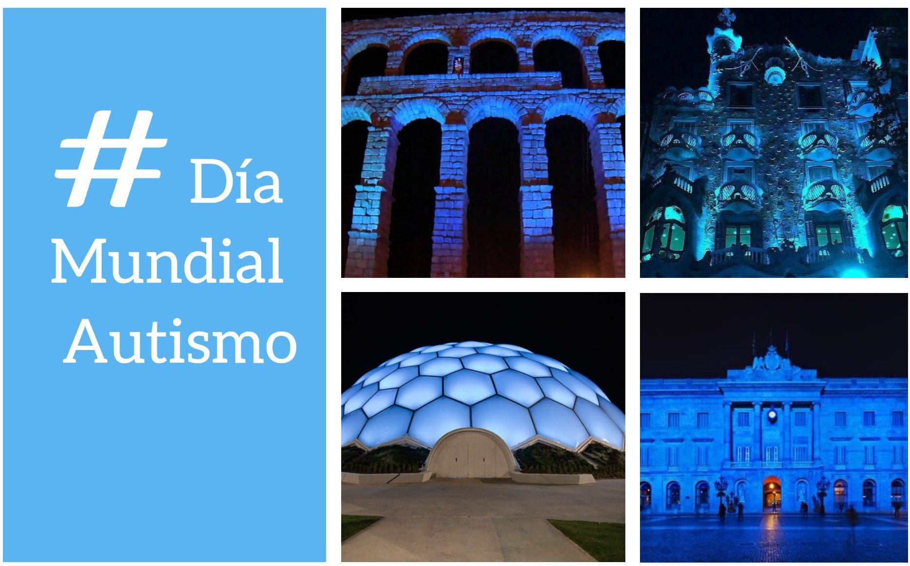 dia mundial autismo 1 e1522663724941 - Los edificios más emblemáticos de España se tiñen de azul en el Día Mundial del Autismo