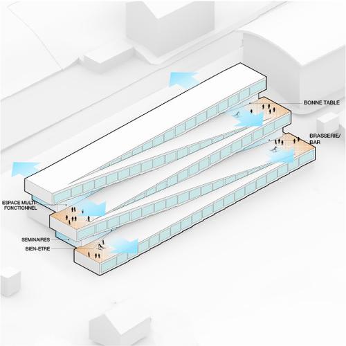 diseño 1 - Este hotel cuenta con un pista de esquí en el techo y se desarrollará en Suiza por Bjarke Ingels Group